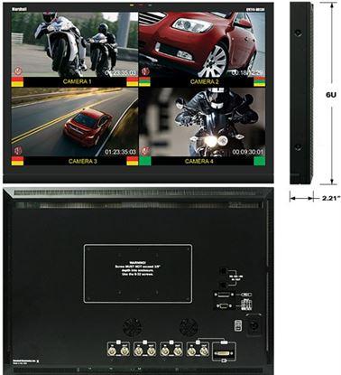 "Image de QV241-HDSDI 24"" Widescreen Native HD Resolution LCD Monitor with built in Quad Splitter"