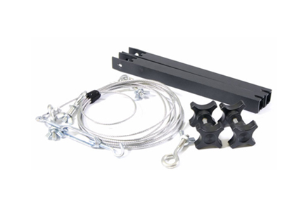 Εικόνα της 8ft Crane Cable Kit (includes 8ft crane cable, 2 cable upright supports and tooless knobs)