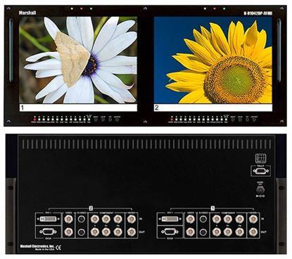 Picture of V-R1042DP-AFHD Dual 10.4' High Resolution HD/SD monitor set with Advanced Features