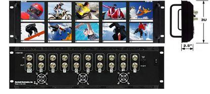 Picture of V-R35P-SDI 3.5'X10 LCD Rack Mt. w/SDI Loop Thru