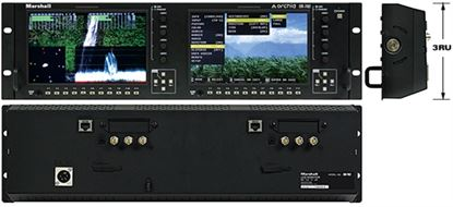 Picture of OR-702 Dual 7' Rack Mount Monitor