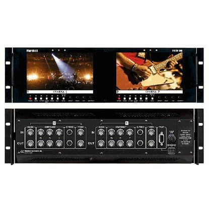 Picture of V-R72P-2HD Dual Screen Multiformat 1.2 Megapixel HD/SD LCD Monitor Set