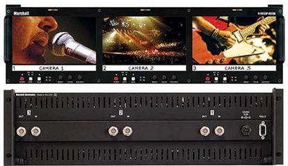 Picture of V-R653P-HDSDI Triple 6.5' HD Rack Mountable LCD with HDSDI/SD input
