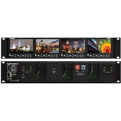 Picture of V-MD434 Four 4.3' Wide Screen Rack Unit with no input Modules