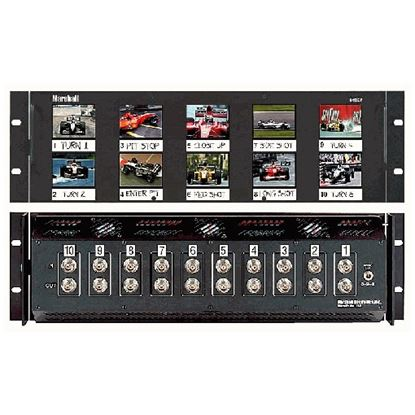Picture of V-R25P Ten 2.5' LCD Screen Rack Mount Panel